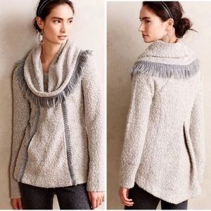 """Anthropologie """"Angel Of The North Fringe Sweater"""
